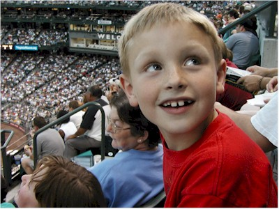Zach at Safeco Field